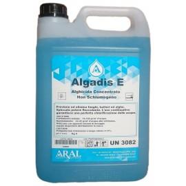 Algadis E Antialghe Concentrato per Piscina Battericida e con Effetto Azzurrante