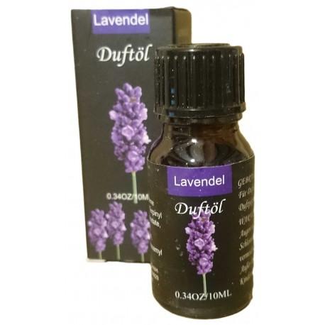 Olio Essenziale Lavanda Boccetto 10 ml per Diffusori Ambientali e Aromatherapy