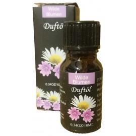 Olio Profumato 10 ml Fiori Selvatici per Aromaterapia e Diffusori Ambientali