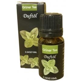 Olio Essenziale Tè Verde Boccetto 10 ml Diffusori per Ambienti e Aromaterapia