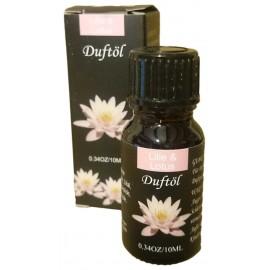 Olio Aromatico al Giglio e Loto Boccetto 10 ml Aromatherapy e Diffusori Ambientali