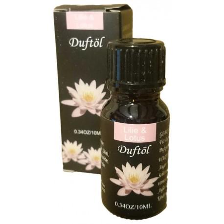 Olio Essenziale al Giglio e Loto Boccetto 10 ml Aromatherapy e Diffusori Ambientali