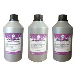 Kit Tris Essenze Concentrate per Aromaterapia, Sauna Finlandese e Deodoranti Ambientali in Barattoli da 500 ml