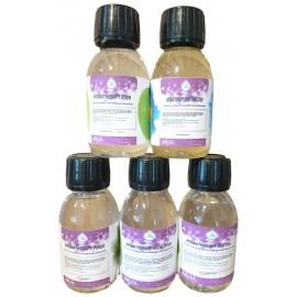 Kit 5 Essenze 100 ml Concentrate per Saune, Bagno Turco Docce Emozionali