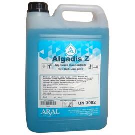 Antialghe Algadis Z Concentrato Professionale per le Acque della Piscina Aral