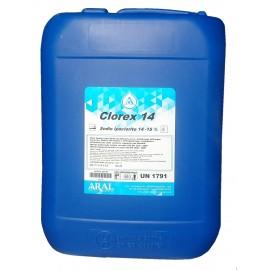 Clorex 14 Cloro Liquido per Disinfezione Rapida e Mantenimento Piscina Aral