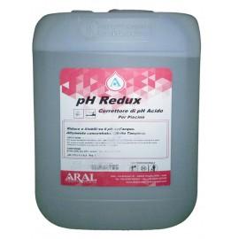 Ph Redux Liquido Riduttore Acido del Livello di Ph della Piscina Prodotto Made in Italy