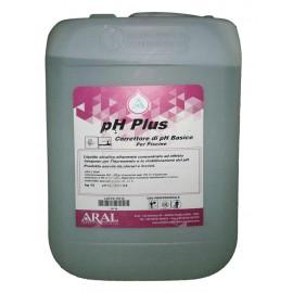 Ph Plus in Formato Liquido per Aumentare e Stabilizzare il Livello del Ph della Piscina