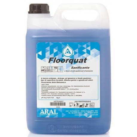 Detergente Sanificante Floorquat per Piscine e Superfici Dure Profumazione Balsamica