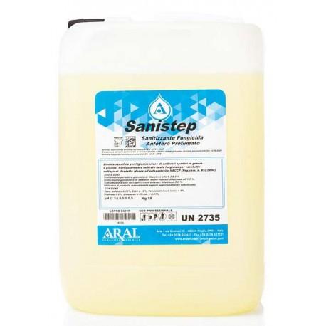 Sanistep Sanitizzante 10 kg Specifico per Vaschette Lavapiedi e Passaggi Obblligatori