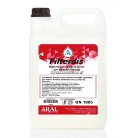 Filterdis Prodotto Disincrostante per la Pulizia e Manutenzione dei Filtri Piscina