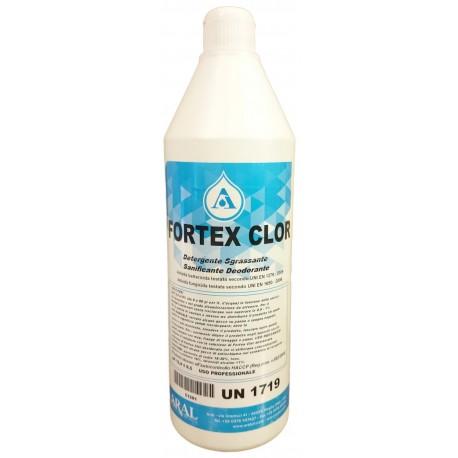 Fortex Clor Detergente Igienizzante Sgrassante Cloro Attivo Multi Uso