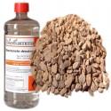Kit Accessori Biocamini 1 Litro Bioetanolo + Pietre Rosse Decorative