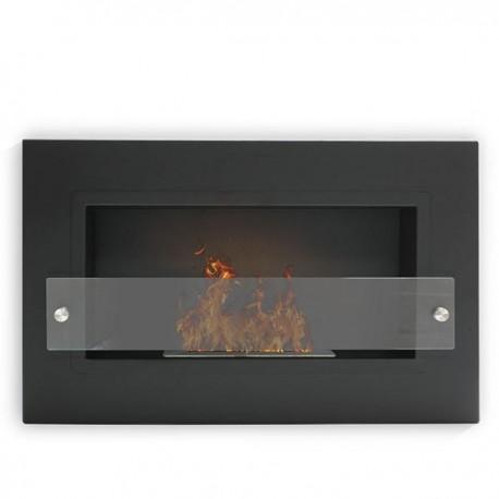 Biocamino da Parete 64 x 40 cm Bruciatore Regolare in Diversi Colori