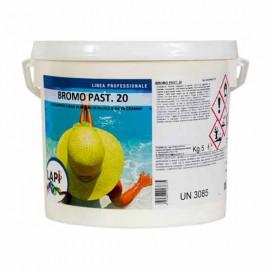 Bromo in Pastiglie 20 gr per Disinfezione Alternativa della Piscina