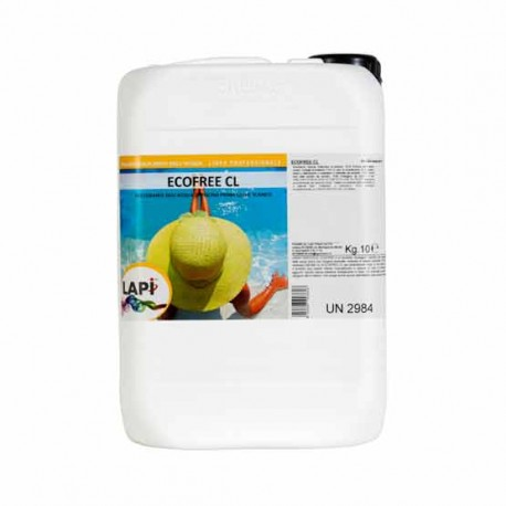 Ecofree CL Specifico per Neutralizzare il Cloro Attivo delle Acque della Piscina