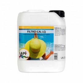 Filtro Cal Prodotto Liquido Specifico per Mantenimento di Filtri a Sabbia