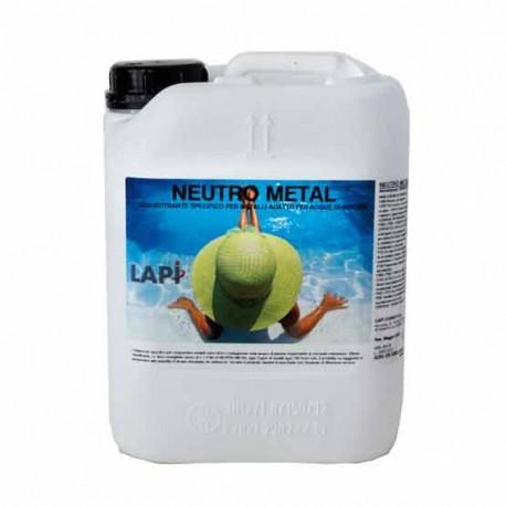 Neutro Metal Sequestrante Liquido per Metalli nella Piscina