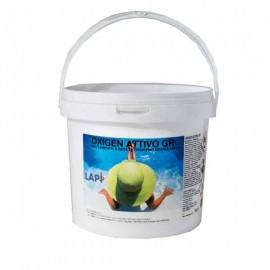 Ossigeno Granulare per Disinfezione Alternativa al Cloro della Piscina