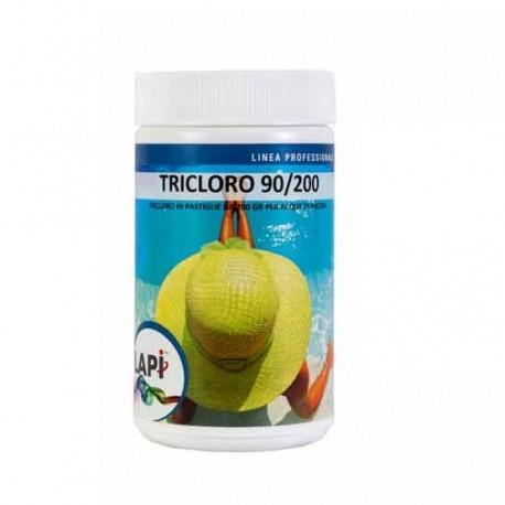 Tricloro 90% in Pastiglie da 200 gr per Disinfezione della Piscina