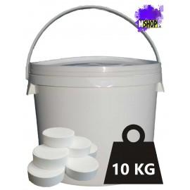Tricloro 90% Pastiglie 500 gr Cloro Disinfezione Piscina Grandi Dimensioni