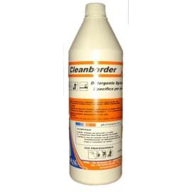 Cleanborder Detergente Sgrassante Specifico per Rimuovere i Residui di Sporco da Pareti e Bordi delle Piscine Made in Italy