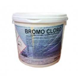 Bromo Cloro in Pastiglie da 20 gr per il Trattamento e la Disinfezione della Piscina Secchio 10 Kg