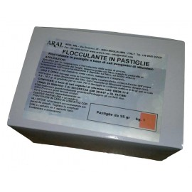 Flocculante per Trattamento Piccole Piscine in Pastiglie da 25 gr Acque Cristalline